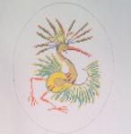 AB20 Gestural Ibis, 5″x6.5″, 18 mesh Alex Beard