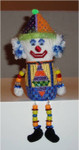 "Boy Clown	5"" x 2.5""	18 Mesh  Sew Much Fun"