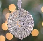 Ornament Crystal Nelkin Designs Knitting Kit