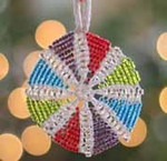 Ornament Pinwheel Nelkin Designs Knitting Kit