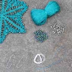 Stars Ornament Holly Nelkin Designs Knitting Kit