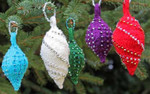 Lights Ornament Icicle Nelkin Designs Knitting Kit