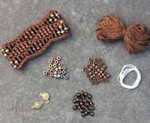 Beaded Wave Cuff Coffee Nelkin Designs Knitting Kit