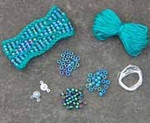 Beaded Wave Cuff Verdant Nelkin Designs Knitting Kit