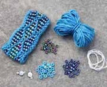 Beaded Wave Cuff Atlantic Nelkin Designs Knitting Kit