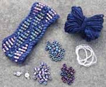 Beaded Wave Cuff Moonless Nelkin Designs Knitting Kit