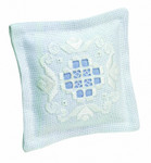 "033111 Permin Kit Pincushion 4"" x 4""; Hardanger; 22ct"
