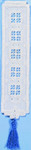 "053114 Permin Kit Bookmark 2"" x 7""; Hardanger; 22ct Price: $5.00"