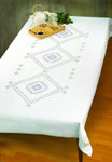 "583100 Permin Kit Tablecloth 56"" x 92""; Hardanger; 22ct"