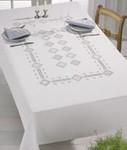 "582765 Permin Kit Tablecloth 55"" x 92""; Hardanger; 22ct"