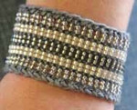 Steel (wool) Stereo Cuff Nelkin Designs Knitting Kit