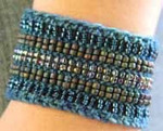 Stereo Cuff Atlantic (wool) Nelkin Designs Knitting Kit