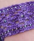 Pioneer Cuff Violet Nelkin Designs Knitting Kit