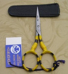 "Dovo 210350  3.5"" Embroidery Scissors Bumble Bee"