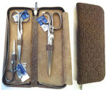 "Dovo  DV26 Size: 4"", 5"", 6"" 3 piece scissor set includes: DV17, DV27 and DV28."