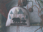15-1453 THI-1417 Snowglobe Ornament 2014-BearyChristmas 84w x 84h Thistles