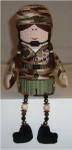 Army Girl Mesh Sew Much Fun 3D DESIGN