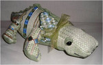 "Ally Gator4.5""18 Mesh Sew Much Fun 3D DESIGNS"