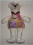 """Cuddles Bear 10"""" x 5"""" Mesh Sew Much Fun 3D DESIGN"""