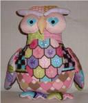 """Olive Owl10"""" x 9""""18 Mesh Sew Much Fun 3D DESIGN"""