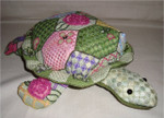 "Tabitha Turtle 4"" x 14"" 18 Mesh Sew Much Fun 3D Design"
