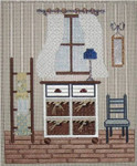 "Bathroom Dresser	9.5"" x 8""	18 Mesh Sew Much Fun"