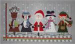 "Christmas Friends9"" x 16"" 18 Mesh Sew Much Fun"