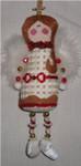 "Angel5"" x 2.5"" 18  Mesh Sew Much Fun CHRISTMAS ORNAMENT"