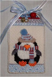 "Penguin	5"" x 3""	18 Mesh Sew Much Fun Tag"