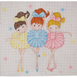 AP2768 Three Ballerinas Alice Peterson 18 Mesh 9.75 x 9.5 !