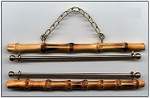 "3406 Bellpulls; Bamboo; Natural Finish; 6cm (2-3/8"")"