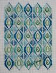 Freda's Fancy Stitching Teardrops 119w x 162h