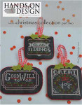 16-1898 Chalkboard Ornaments - Christmas Collection Part 2 Hands On Design YT