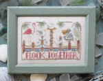 16-1657 Flock Together - To The Beach#4  94 x 61 Hands On Design