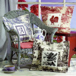 Toile Pillows Birds Of A Feather