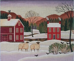 DP-LS08 Winter Sheep 12x10 Diane Ulmer Pedersen