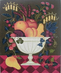 DP-FL02 Fruit & Flowers Bowl 10x12 Diane Ulmer Pedersen
