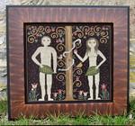 Carriage House Samplings Adam & Eve