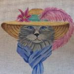 CC12 Feline Fashion 8 x 8 Nenah Stone Designs COSTUME CAT 18 Mesh