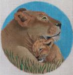 "FF58 Lioness 5"" Nenah Stone Designs 18 Mesh"