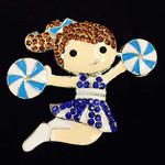 Cheerleader Needle Minder   Big Buddy The Meredith Collection ( Formerly Elizabeth Turner Collection)