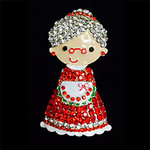 Christmas Granny Needle Minder Big Buddy The Meredith Collection (Formerly Elizabeth Turner Collection)