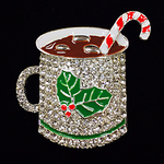 Hot Chocolate Needle Minder Big Buddy The Meredith Collection ( Formerly Elizabeth Turner Collection)