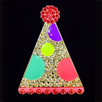Party Hat Needle Minder Big Buddy The Meredith Collection ( Formerly Elizabeth Turner Collection)