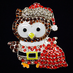 Santa Owl Needle Minder Big Buddy The Meredith Collection ( Formerly Elizabeth Turner Collection)