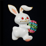 Easter Bunny Needle Minder Big Buddy The Meredith Collection ( Formerly Elizabeth Turner Collection)
