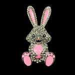 Bunny With Egg Needle Minder Big Buddy The Meredith Collection (Formerly Elizabeth Turner Collection)
