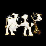 Cow Needle Minder Big Buddy The Meredith Collection ( Formerly Elizabeth Turner Collection)