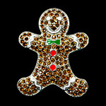 Gingerbread Man Needle Minder Big Buddy The Meredith Collection (Formerly Elizabeth Turner Collection)
