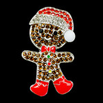 Gingerbread Man With Santa Hat Needle Minder Big Buddy The Meredith Collection (Formerly Elizabeth Turner Collection)